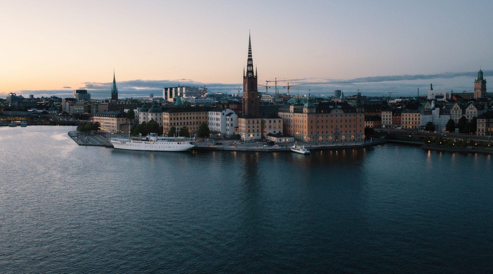 The world besoker stockholm